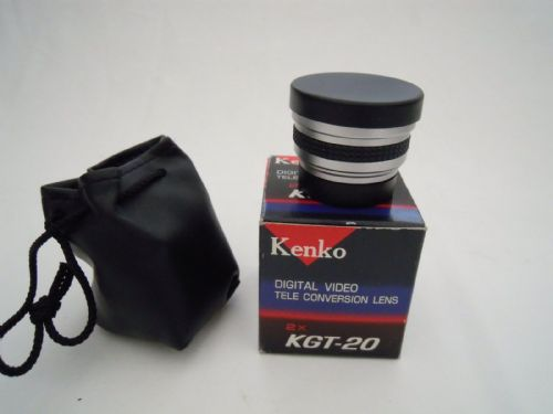 KENKO 2X KGT-20 VIDEO CONVERSION LENS